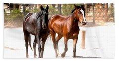 Horses Unlimited_6a Bath Towel