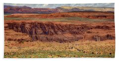 Hand Towel featuring the photograph Horseshoe Bend Arizona #2 by Jennifer Rondinelli Reilly - Fine Art Photography