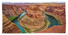 Horseshoe Bend - Colorado River - Arizona Bath Towel