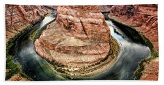 Horseshoe Bend Colorado River Bath Towel