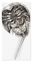 Horseshoe Crab Hand Towel