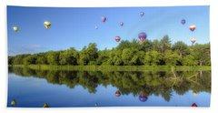 Quechee Balloon Fest Reflections Hand Towel