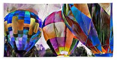 Hot Air Balloons 2 Hand Towel