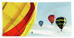 Hot Air Balloons Hand Towel