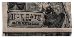 Hot Bath Hand Towel