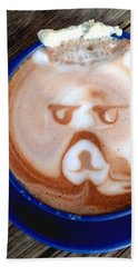 Hot Chocolate Bear Bath Towel