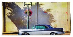 Hot Rod Bel-air Bath Towel by Craig J Satterlee