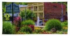 Hot Springs Roundabout Painterly Bath Towel