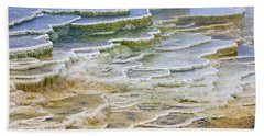 Bath Towel featuring the photograph Hot Springs Runoff by Gary Lengyel