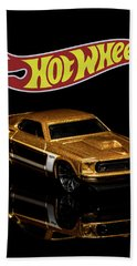 Hot Wheels '69 Ford Mustang 2 Bath Towel