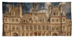 Paris, France - Hotel De Ville Hand Towel
