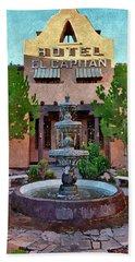 Hotel El Capitan  Bath Towel