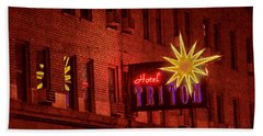 Hotel Triton Neon Sign Hand Towel