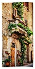 House In Arezzoo, Italy Bath Towel