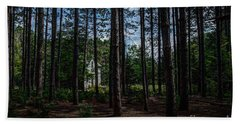 House In The Pines Hand Towel