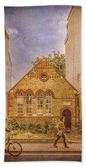 Oxford, England - House On Walton Street Hand Towel