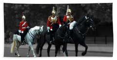 Household Cavalry Bath Towel