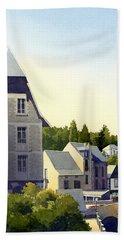 Houses At Murol Bath Towel