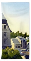 Houses At Murol Hand Towel