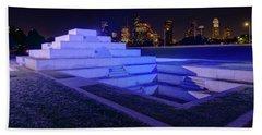 Houston Police Officer Memorial Bath Towel by Tim Stanley