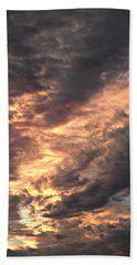 How About Them Clouds Hand Towel