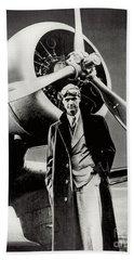 Howard Hughes - American Aviator  Bath Towel