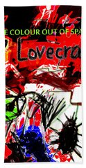 Hp Lovecraft Poster  Hand Towel