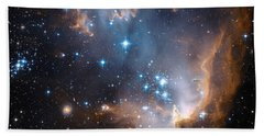 Hubble's View Of N90 Star-forming Region Bath Towel