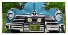 Hudson Blue Hand Towel