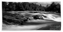 Hudson River Solice Bath Towel by Darleen Stry