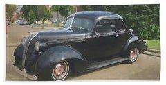 Hudson Vintage Automobile Bath Towel