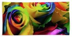 Hue Heaven Hand Towel by JAMART Photography