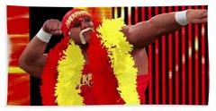 Hulk Hogan Bath Towel