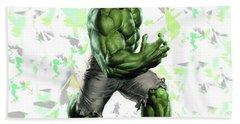 Hulk Splash Super Hero Series Bath Towel