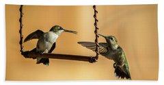 Humming Birds Hand Towel