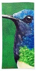 Hummingbird Hand Towel by Catherine Swerediuk