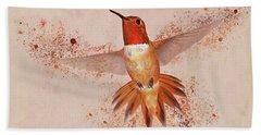 Hummingbird Color Splash II Hand Towel