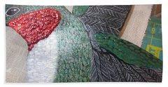 Hummingbird Detail Hand Towel