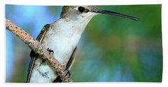 Hummingbird I Bath Towel