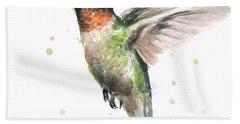 Hummingbird Hand Towel