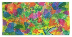 Hummingbird Bath Towel