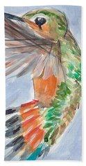 Hummingbird87 Bath Towel