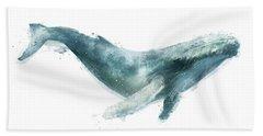 Humpback Whale Hand Towel