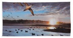 Humphrey Farm Pintails Bath Towel