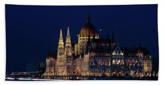 Hungarian Parliament Building #1 Hand Towel