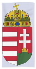 Hungary Coat Of Arms Hand Towel by Movie Poster Prints
