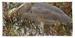 Hungry Heron Bath Towel