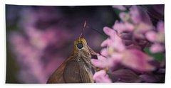 Hungry Moth Bath Towel