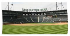 Huntington Park Baseball Field Hand Towel