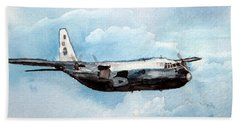 Hurricane Hunter Bath Towel